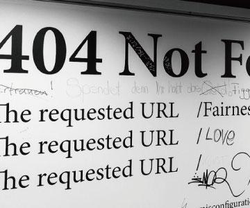 404エラーはどのように対処すべきか